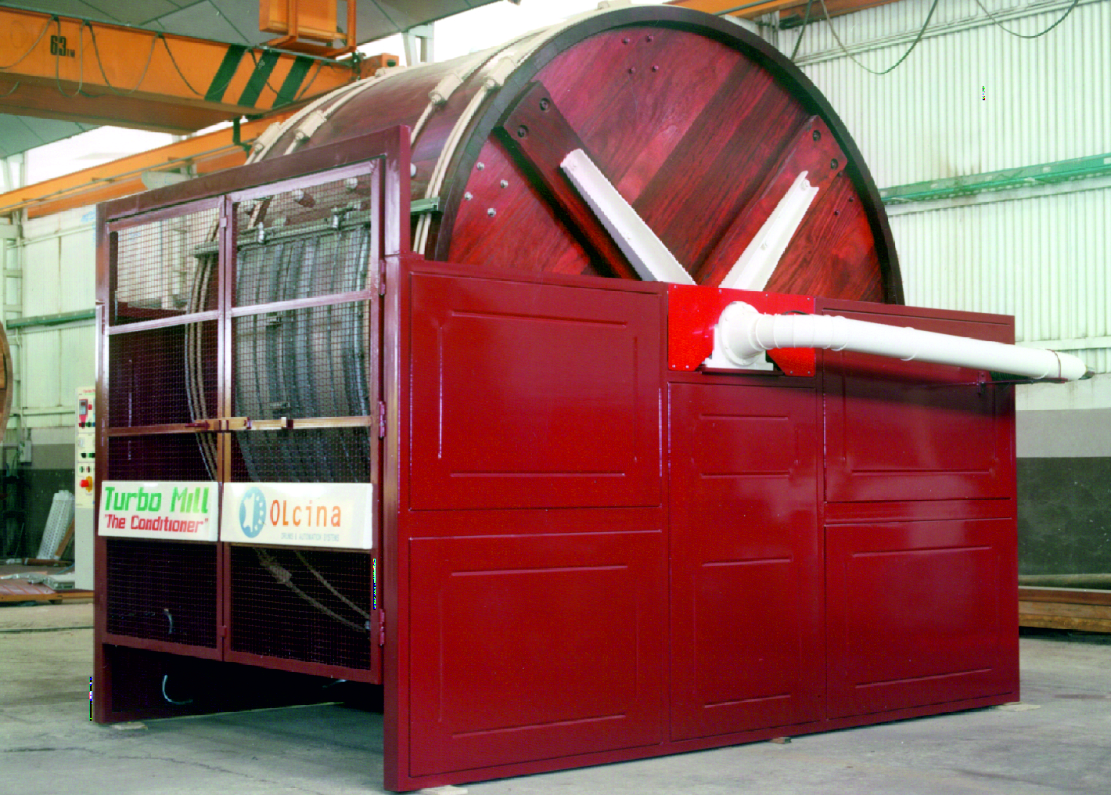 Turbo Mill- Fäss Walkprozesse