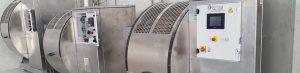 Cangilones inox lab para su ensayo y producción de pieles con ahorros y ventajas