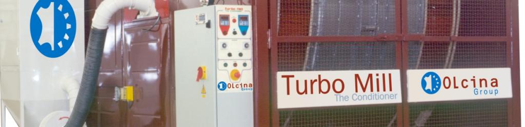 Bombo turbo mill para acondicionado abatanado pieles